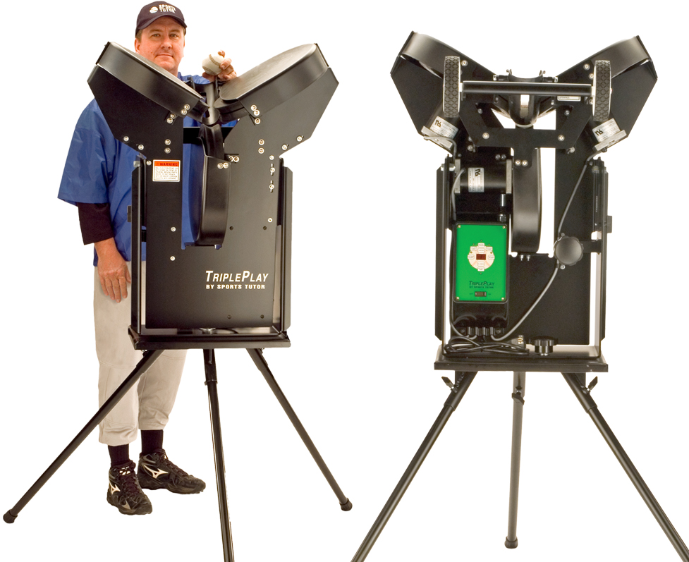 Triple Play Pro Baseball Machine