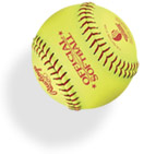 softball-yellow